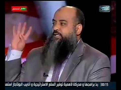 د.محمد علي المصري يفحم أحد الانقلابيين ويفقده أعصابه بسبب إشارة رابعة
