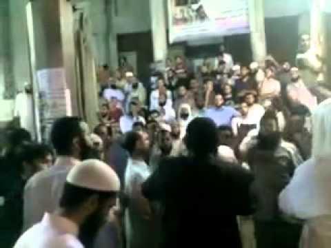 مظاهرات الجبهة السلفية  المنصورة لرفض التعديلات فوق الدستورية