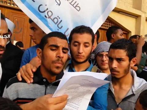 بيان طلاب الجبهة السلفية بجامعة الأزهر ضد الانقلاب