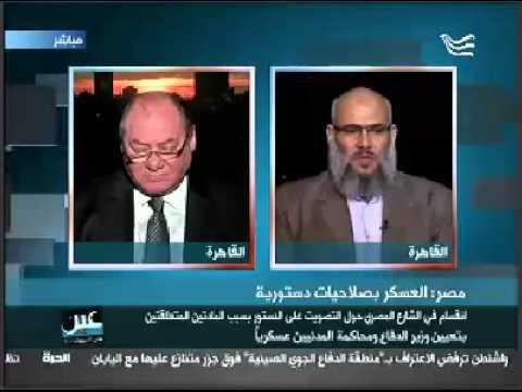 د.خالد سعيد : حزب النور فصيل انقلابي ونتمسك بمبادئنا ولا نعترف بدستور الانقلاب