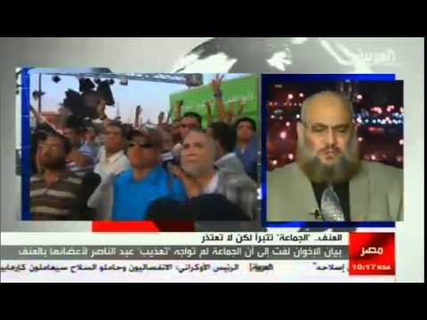 د خالد سعيد النظام الانقلابي إرهابي وعنيف ونحن نمارس المقاومة السلمية وننبذ العنف