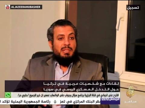 مصطفى البدرى: حول التدخل العسكري الروسي في سوريا