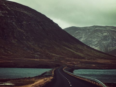 road-mountains-hills-dull