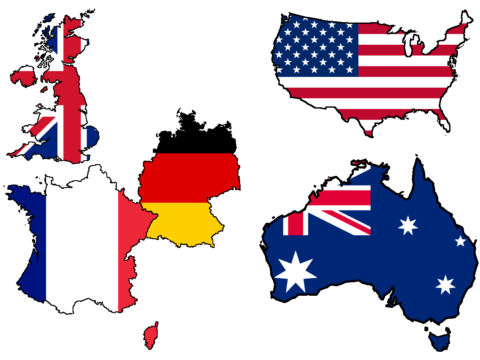 الدول الكبرى - فرنسا - بريطانيا - ألمانيا - أمريكا - الدولة العثمانية - استراتيجيات الدول - القرن العشرين - الجبهة السلفية - أحمد مولانا