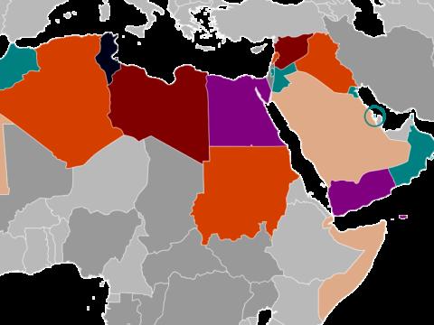 البلاد العربية 2020 - الشرق الأوسط 2020 - الثورة العربية - الأمة الإسلامية - الجبهة السلفية - أحمد مولانا