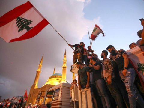 ثورة لبنان - الشعب المصري وثورة لبنان - المجتمع المصري - الجبهة السلفية - د خالد سعيد