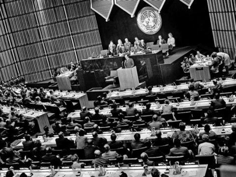 النظام الدولي بعد الحرب العالمية الثانية - انشاء الامم المتحدة - الاتحاد السوفيتي - الجبهة السلفية - أحمد مولانا
